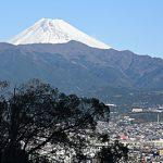 愛鷹山と富士山